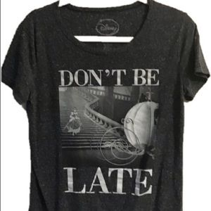 Disney Cinderella gray graphic tee. Large